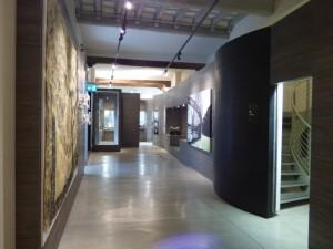 Ingresso del percorso interno del museo