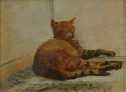 gatto di filippo palizzi