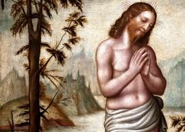 Battesimo di Cristo, particolare