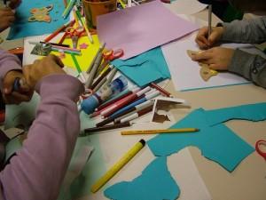 fotografia di un laboratorio per bambini