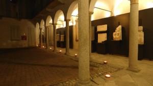 Ftografia Chiostro del museo di sera