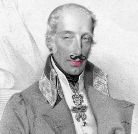 Ritratto divertente di Ranieri d'Asburgo