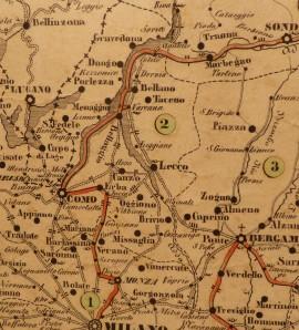 Particolare mappa
