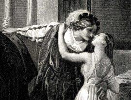 Ultimo bacio di Giulietta e Romeo