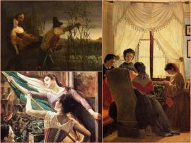 Collage dipinti