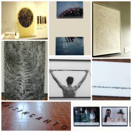 Collage opere vincitrici Biennale Giovani 2017