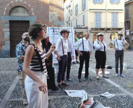 """Fotografia performance """"El pennel del Mosè Bianchi"""""""
