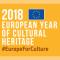 Logo dell'anno europeo del patrimonio culturale