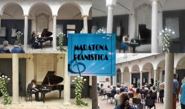 Collage foto Maratona pianistica