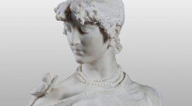Giuseppe Grandi, Busto femminile – Messaggero d'amore
