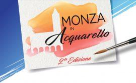 Logo Monza in Acquarello